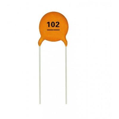 0.001uF - (102) Ceramic Capacitor - 5 Pieces pack