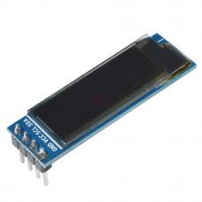 0.91 inch I2C/IIC 128x32 OLED Display Module