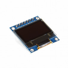 0.96 inch 128x64 OLED Display Module - SPI/I2C - 7 Pin