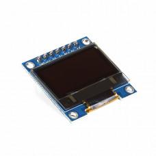 2.44 cm (0.96 inch) 128x64 OLED Display Module - SPI/I2C - 7 Pin