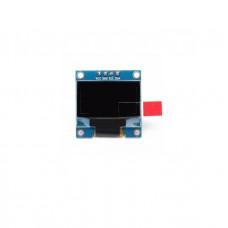 0.96 Inch I2C/IIC 128x64 OLED Display Module 4 Pin - Blue Color