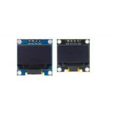 0.96 Inch I2C/IIC 128x64 OLED Display Module 4 Pin - Yellow-Blue Color