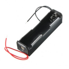 1 x 3.7V 18650 Lithium Polymer (Lipo) Battery Holder