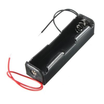1 x 3.7V 18650 Lithium Polymer (Lipo) Battery Holder