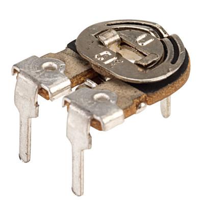 100K ohm Variable Resistor - Trimpot Metal Preset - 2 Pieces Pack