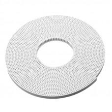 10M GT2 Width 6mm White Open Timing Belt For 3D Printer