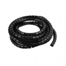 10mm Spiral Wrapping Band Black 10M for Wires