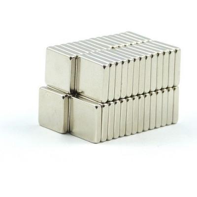 10mm x 10mm x 2mm Neodymium Block Magnet
