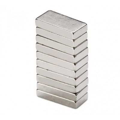 10mm x 5mm x 2mm Neodymium Block Magnet