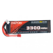 11.1V - 3300mAH - (Lithium Polymer) Lipo Rechargeable Battery - 35C