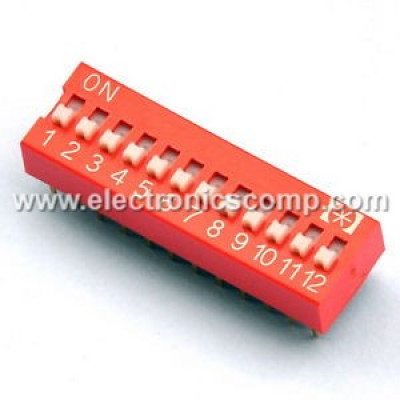 12 Way DIP Switch