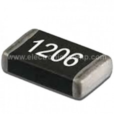 820 ohm SMD Resistor - 1206 Package -1/4W - 20 Pieces Pack