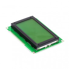 128x64 Character (Green) Graphic LCD Display