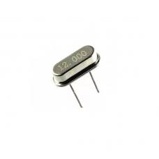 12Mhz Crystal Oscillator HC49/US Package