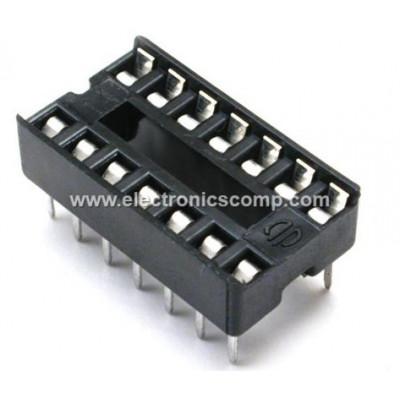 14 Pin IC Base (DIP) - 2 Pieces Pack