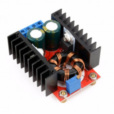 150W DC-DC Step-Up Boost Converter 10-32V to 12-35V 6A Adjustable Power Supply Module