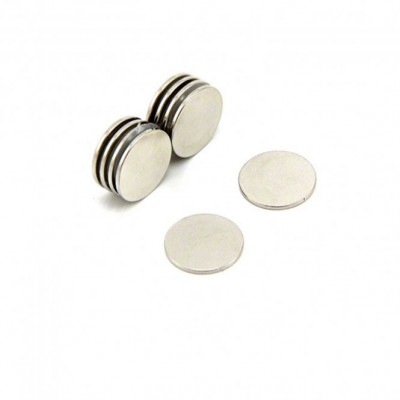 15mm x 1.5mm (15x1.5 mm) Neodymium Disc Strong Magnet