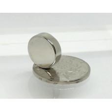 15mm x 5mm (15x5 mm) Neodymium Disc Strong Magnet