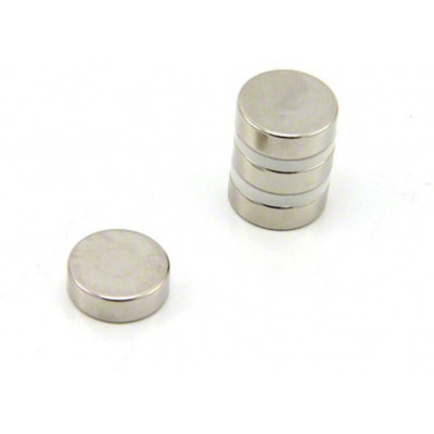 15mm x 6mm (15x6 mm) Neodymium Disc Strong Magnet