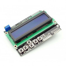16x2 (1602) LCD Keypad Shield - Blue Backlight for Arduino