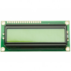 16x2 (1602) Character Green Backlight LCD Display