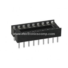 18 Pin IC Base (DIP) - 2 Pieces Pack