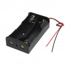 2 x 3.7V 18650 Lithium Polymer (Lipo) Battery Holder