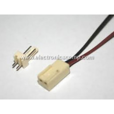 2 Pin Polarized Header Wire/Cable  - Relimate Connector