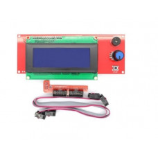 2004 LCD Display RepRap Discount Smart Controller with Adapter