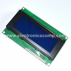 20x4 Character (Blue) LCD Display