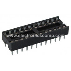 24 Pin IC Base (DIP) - 2 Pieces Pack