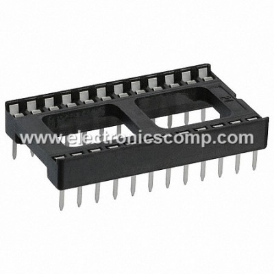 24 Pin IC Base/Socket (DIP) - Wide - 2 Pieces Pack
