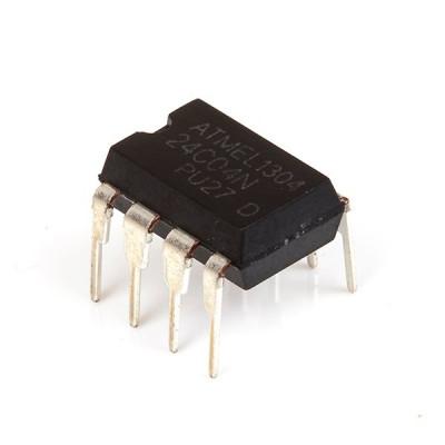 24C04 4K bit Serial I2C Bus EEPROM IC DIP-8 Package