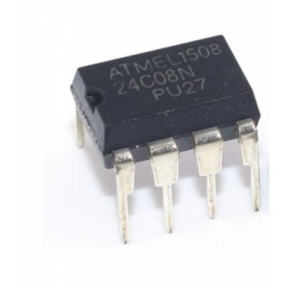 24C08 8K bit Serial I2C Bus EEPROM IC DIP-8 Package