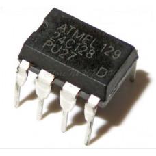 24C128 128K bit Serial I2C Bus EEPROM IC DIP-8 Package