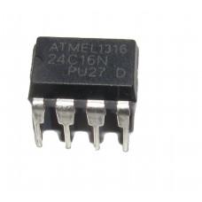 24C16 16K bit Serial I2C Bus EEPROM IC DIP-8 Package