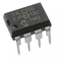 24LC256 24C256 256K bit Serial I2C Bus EEPROM IC DIP-8 Package