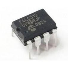 24LC512 24C512 512K bit Serial I2C Bus EEPROM IC DIP-8 Package