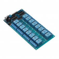 16 Channel 24V Relay Module with Optocoupler