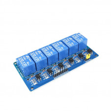 6 channel 24V Relay Module with Optocoupler