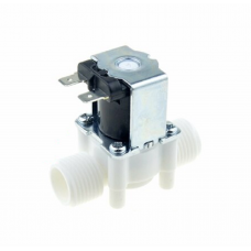 24V DC 1/2 inch Electric Solenoid Water Air Valve Switch (Normally Closed)