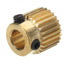 26 Teeth Universal Stainless Steel Extrusion Gear for 3D Printer