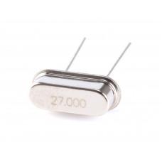 27Mhz Crystal Oscillator HC49/US Package