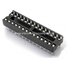 28 Pin IC Base (DIP) - 2 Pieces Pack