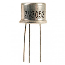 2N3053 NPN Silicon Planar Transistor 40V 700mA TO-39 Metal Package