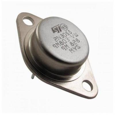 2N3055 NPN Power Transistor TO-3 Metal Package