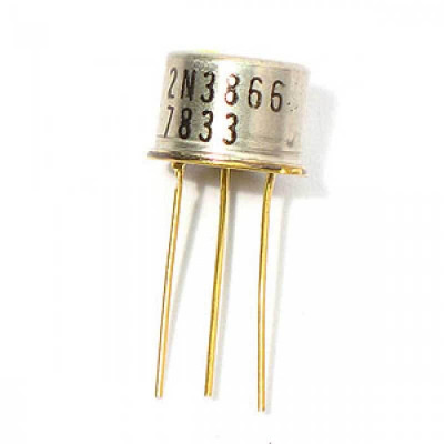 2N3866 NPN RF Power Transistor 30V 0.4A TO-39 Metal Package