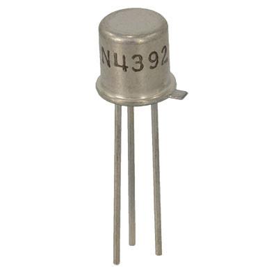 2N4392 N-Channel JFET 40V 75mA TO-18 Metal Package