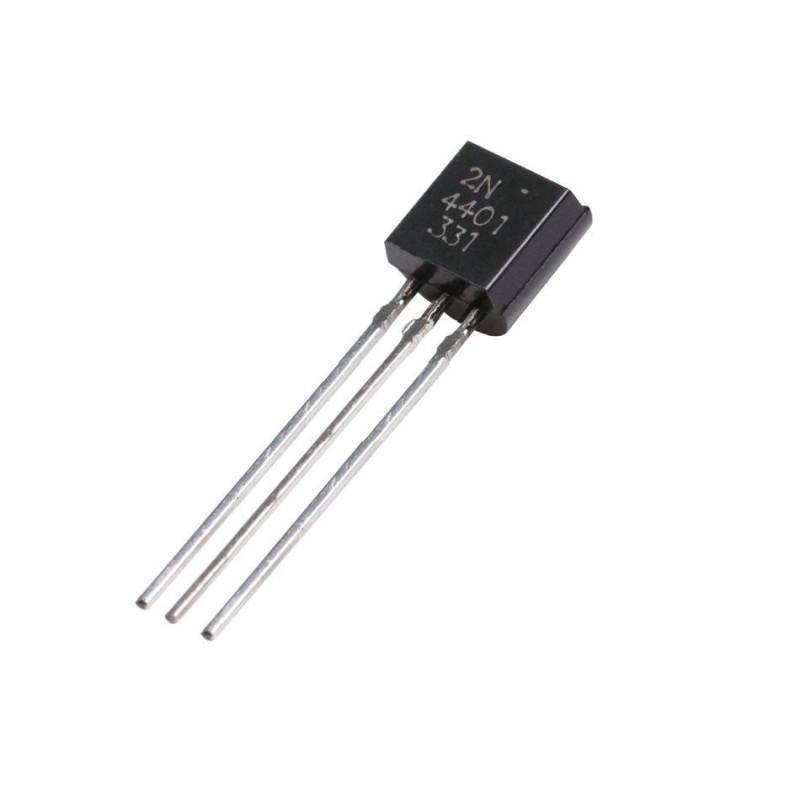 2N4401 NPN General Purpose Transistor TO-92 Package buy ...
