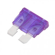 3 Amp Car Blade Fuse - 2 Pieces Pack